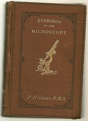 Evenings at the Microscope by P.H. Gosse
